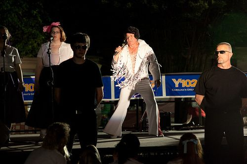 Elvis at White Plains UMC